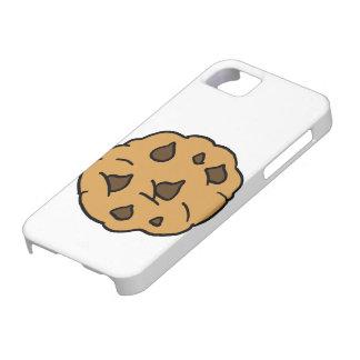 Cartoon Clipart HUGE Chocolate Chip Cookie Dessert iPhone SE/5/5s Case