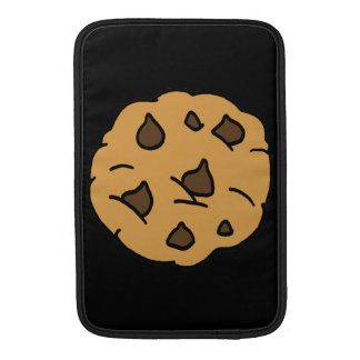 Cartoon Clipart HUGE Chocolate Chip Cookie Dessert MacBook Sleeve