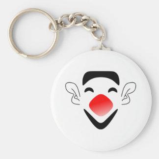 Cartoon Clown Face Key Chain