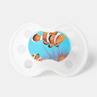 Cartoon clown fish pacifier