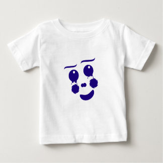 Cartoon clown fun shape face baby T-Shirt
