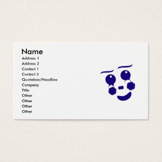 Clown Face Business Cards & Templates | Zazzle