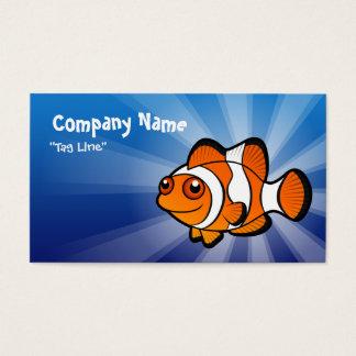 Cartoon Clownfish Business Card