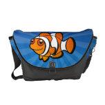 Cartoon Clownfish Messenger Bag
