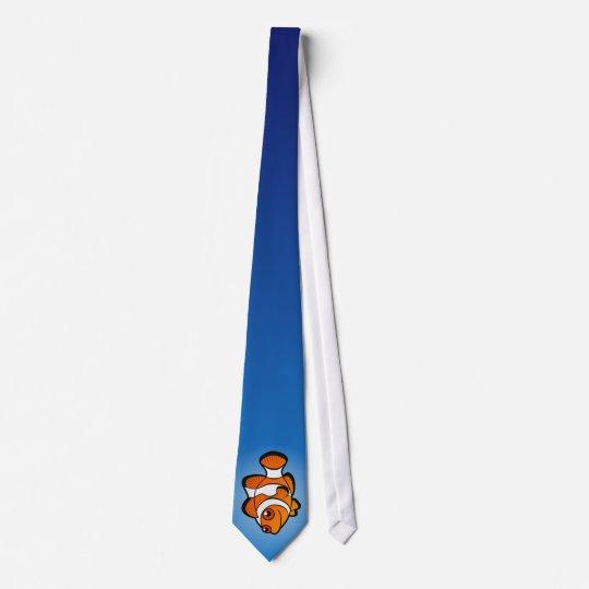Cartoon Clownfish Tie
