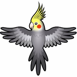 Cartoon Cockatiel Cutout