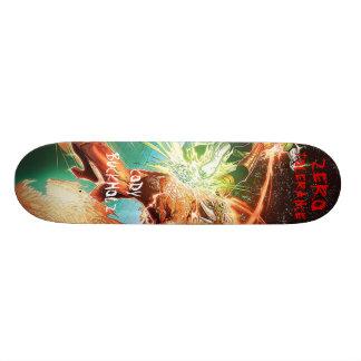 cartoon, CODYBUCKHOLZ, ZERO, TOLERANCE Skateboard Deck