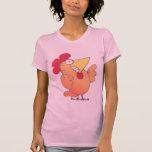Cartoon Comic Chicken T Shirt | Silly LOL T-Shirt