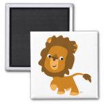 Cartoon Content Lion magnet