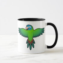 Cartoon Conure / Lorikeet / Parrot Mug