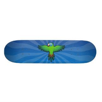 Cartoon Conure / Lorikeet / Parrot Skateboard