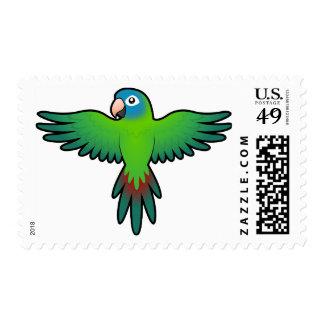 Cartoon Conure / Lorikeet / Parrot Stamp