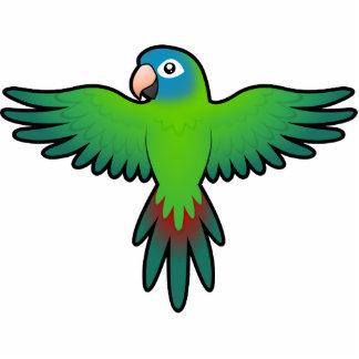 Cartoon Conure / Lorikeet / Parrot Statuette