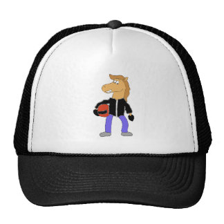 Cartoon Country Music Horse Trucker Hat