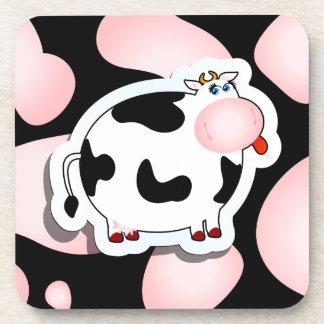 Cartoon cow, coaster
