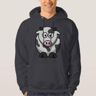 Cartoon Cow Hoodie