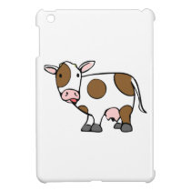Cartoon Cow iPad Mini Case