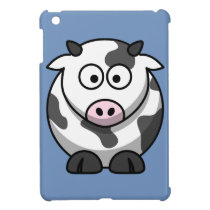 Cartoon Cow iPad Mini Cover