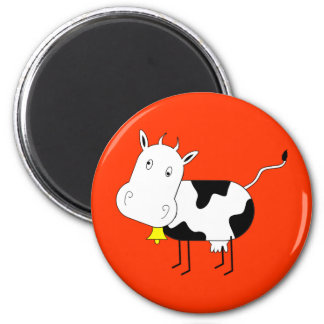 Cartoon Cow Magnet