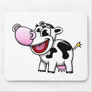 Cartoon Cow Mouse Pad
