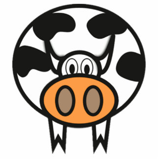 Cartoon Cow Photo Cutout