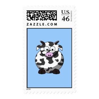 Cartoon Cow Postage