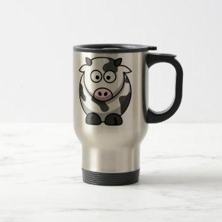 Cartoon Cow Travel Mug