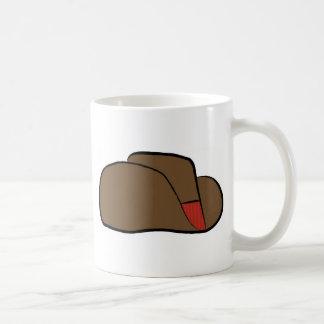 Cartoon Cowboy Hat Coffee Mug