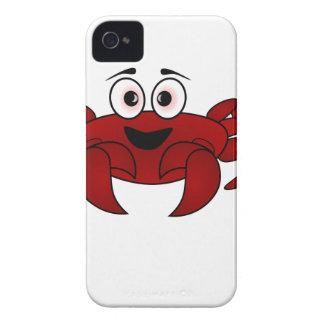 Cartoon Crab Case-Mate iPhone 4 Case