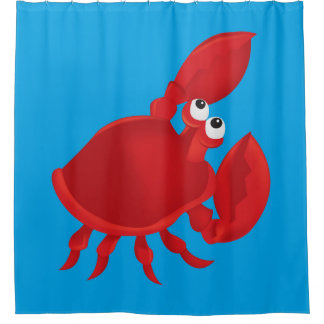 Crab Shower Curtains | Zazzle