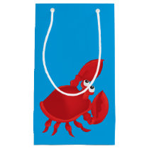 Cartoon crab small gift bag
