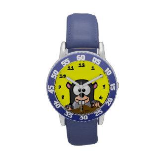 Cartoon Critter Wrist Watches