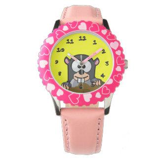 Cartoon Critter Wristwatches