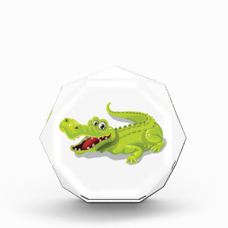 Cartoon Crocodile Acrylic Award
