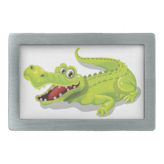 Cartoon Crocodile Belt Buckle