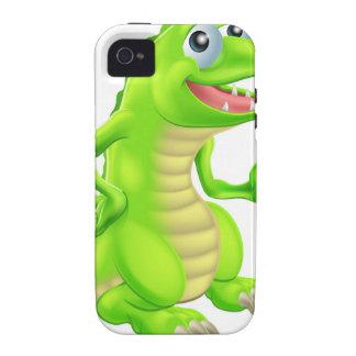 Cartoon Crocodile Illustration Vibe iPhone 4 Case