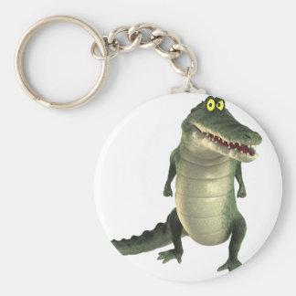 Cartoon Crocodile Keychain