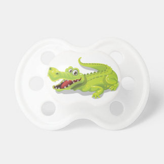 Cartoon Crocodile Pacifier