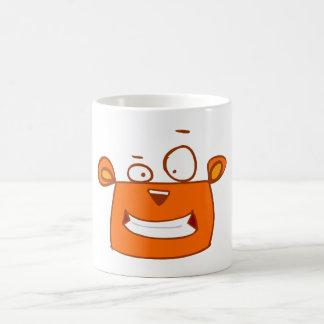 cartoon cute animals - squirrel smiling coffee mugs