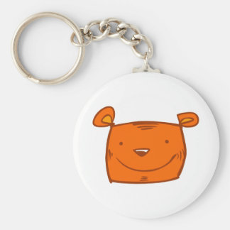 cartoon cute animals - tiger keychains