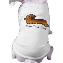 Cartoon Dachshund (longhair) T-Shirt