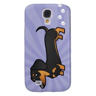 Cartoon Dachshund (smooth coat) Galaxy S4 Case