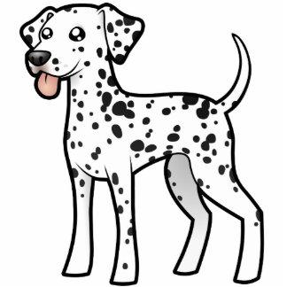 Cartoon Dalmatian Cutout