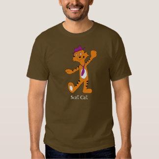 Cartoon Dancing Jazz Tiger T Shirt