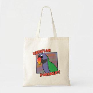 Cartoon Derbyan Parakeet Bag