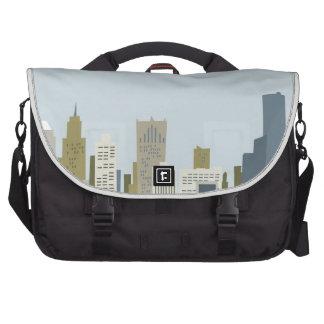 Cartoon Detroit Commuter Bag