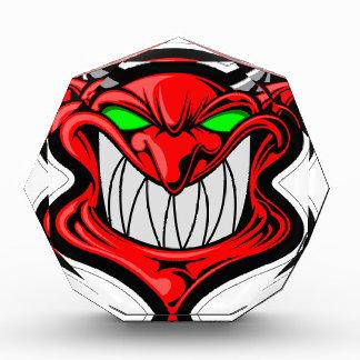 Cartoon Devil Acrylic Award