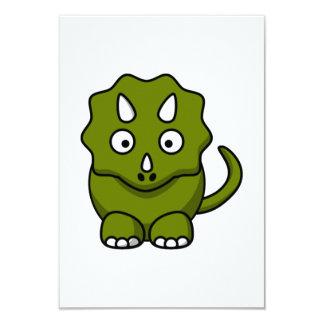 Cartoon Dinosaur Card