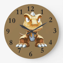 Cartoon Dinosaur Clock