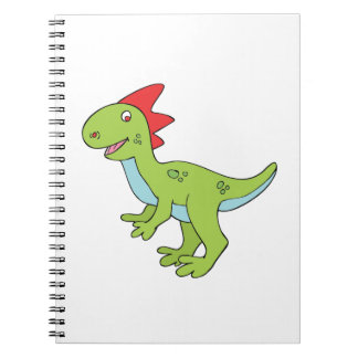 Cartoon Dinosaur Notebook